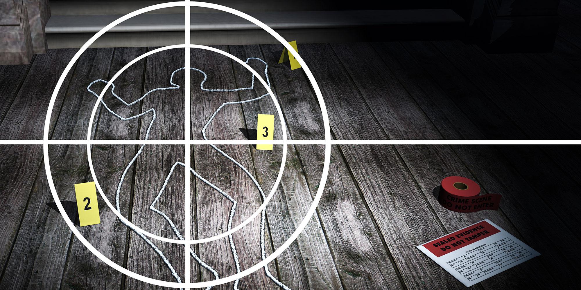 Mordgåta aktivitet - Mordet